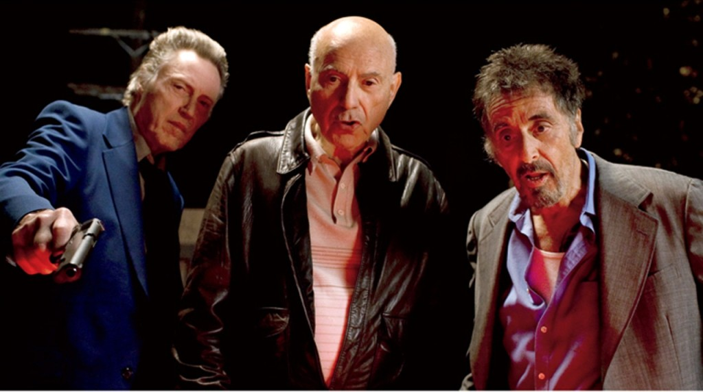 "l to r: Christoher Walken, Alan Arken and Al Pacino in ""Stand Up Guys.?"