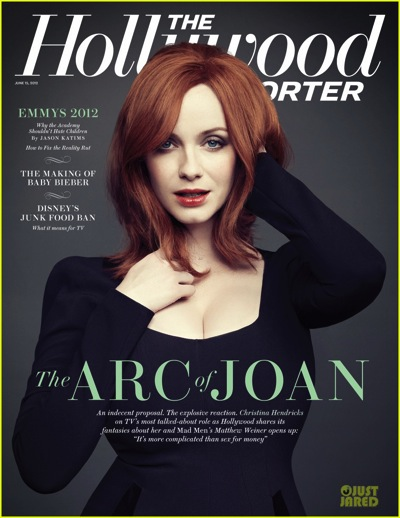 Christina hendricks hollywood reporter
