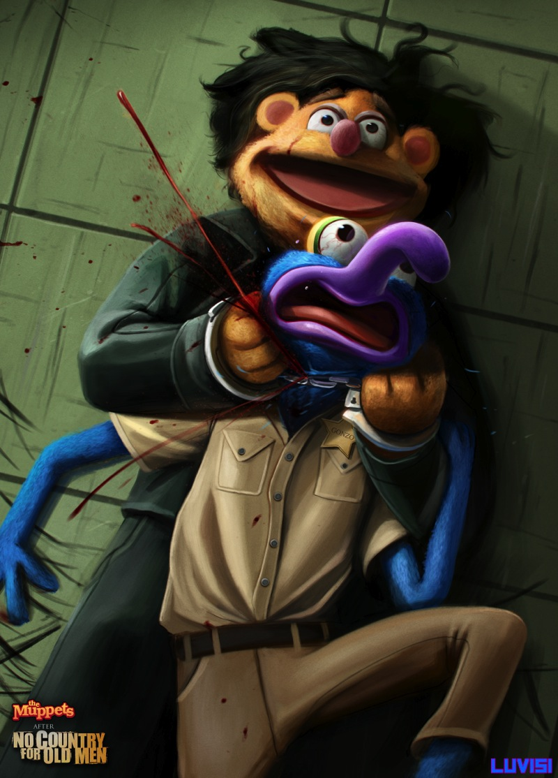 No country for old muppets by danluvisiart d680svx